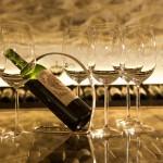 Degustation und Verkostung von Wein
