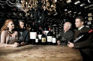 Wein in der Arlberg Hospiz Alm